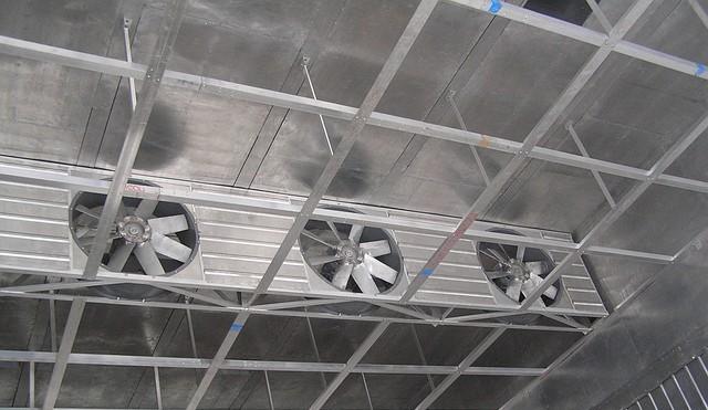 вентиляторы в сушильной камере